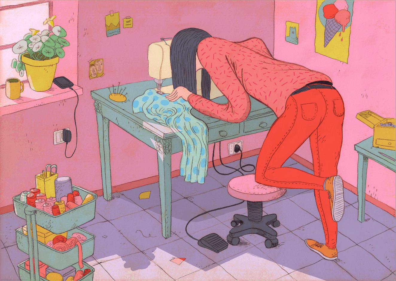 i make my clothes1