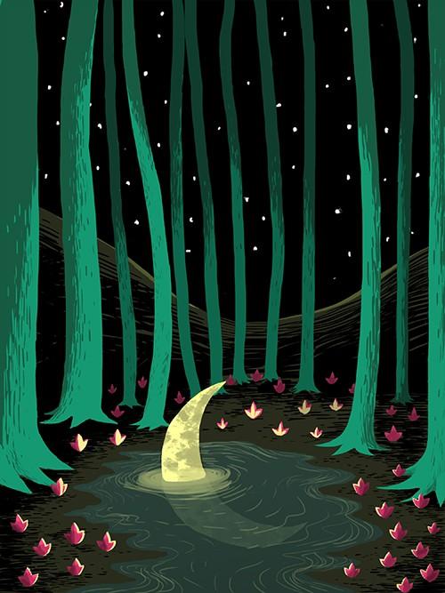 O falce di luna calante